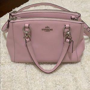 Pastel Pink Coach purse